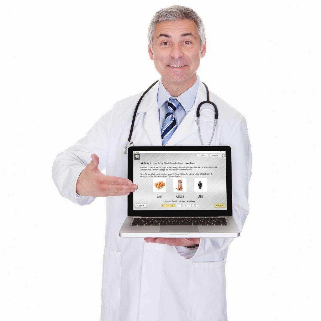 Ihr Arzt empfiehlt: Trainieren Sie mit HeadApp!