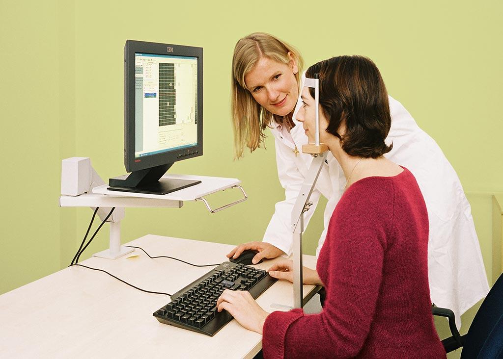 Patient exercises with VRT therapist