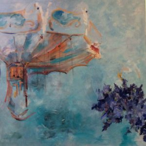 Carrousel - oil painting from Sarah Schrot