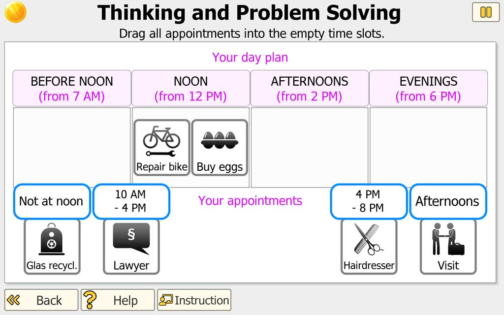 NEUROvitalis - Thinking and Problem Solving (lower level)