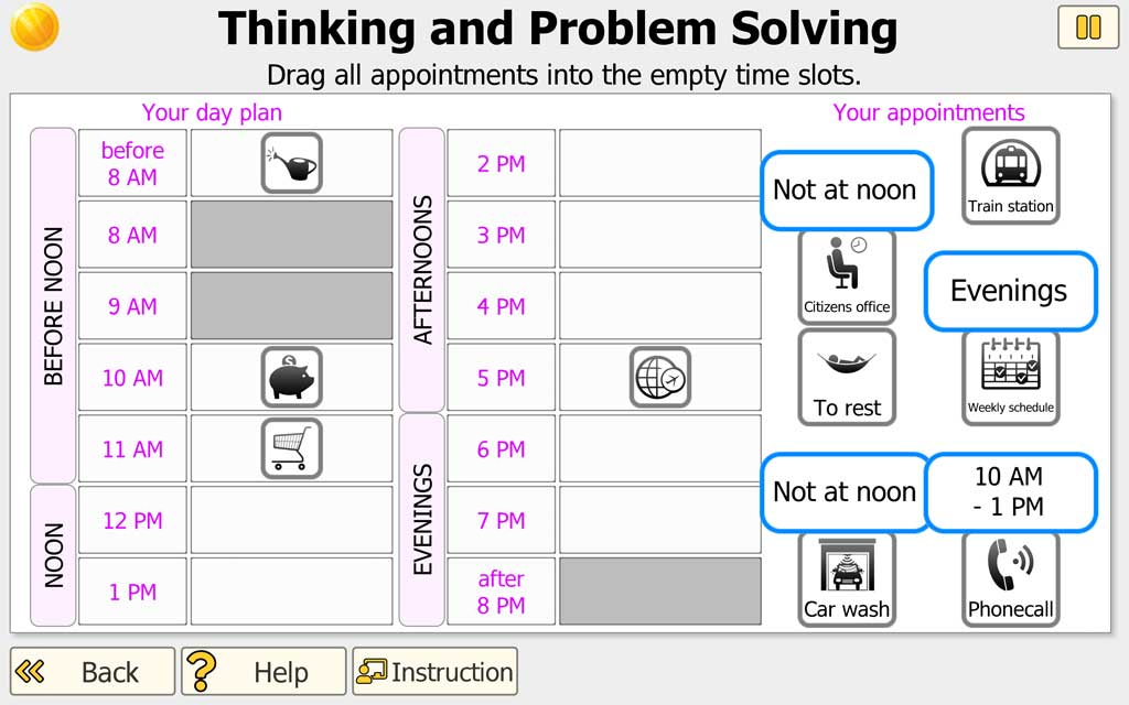 NEUROvitalis - Thinking and Problem Solving (higher level)