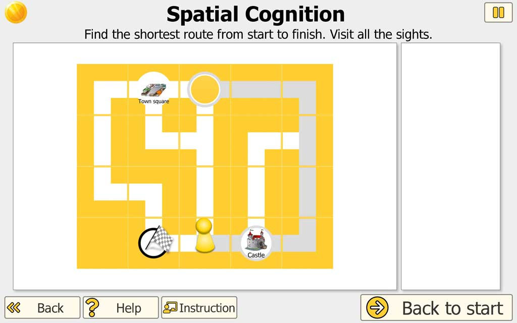 "NEUROvitalis Training ""Spatial Cognition"" (find way)"