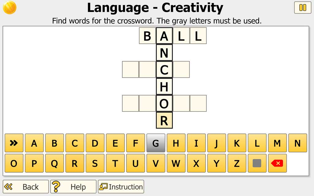 "NEUROvitalis Language training ""Creativity"""