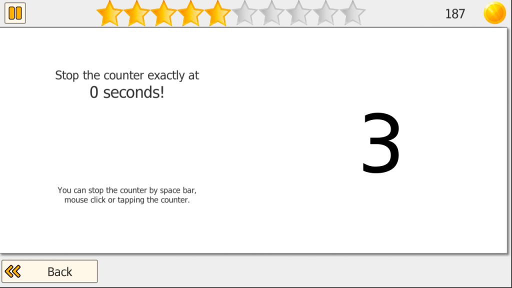 Screenshot Time It Anticipation Training