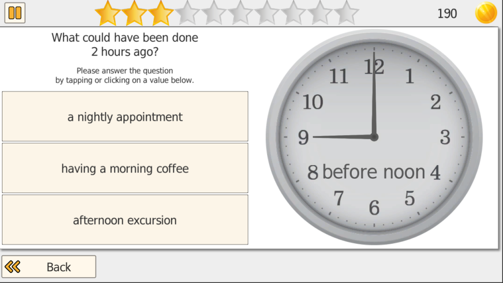 Screenshot Time It Clock Training
