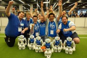 Das Siegerteam des RoboCups 2018